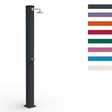 """Doccia Solare in Alluminio """"Big Jolly"""" - 40 Litri - Disponibile in 8 colori - ARKEMA A 300"""