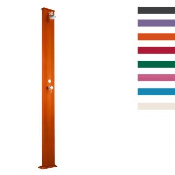 """Doccia Solare in Alluminio """"Spring S"""" - 30 Litri - Disponibile in 9 colori - ARKEMA A 200"""