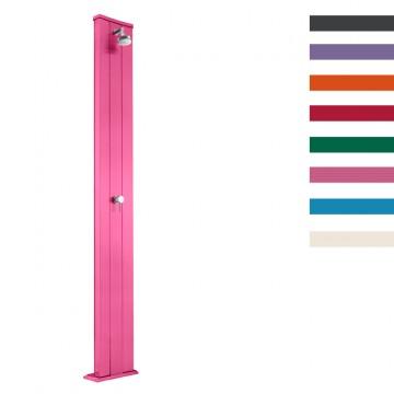 """Doccia Solare in Alluminio """"Dada S"""" - 40 Litri - Disponibile in 10 colori - ARKEMA D 400"""