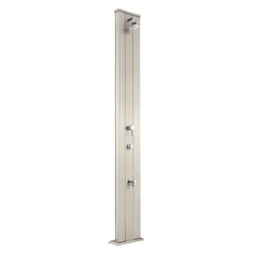 """Doccia Solare in Alluminio """"Dada S Temporizzatore Miscelatore Lavapiedi"""" - 40 Litri - Disponibile in 10 colori - ARKEMA D 430"""