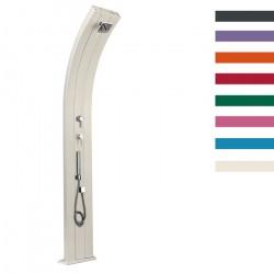 """Doccia Solare in Alluminio """"Dada più Doccetta Mobile con Miscelatore"""" - 40 Litri - Disponibile in 9 colori - ARKEMA D 340"""