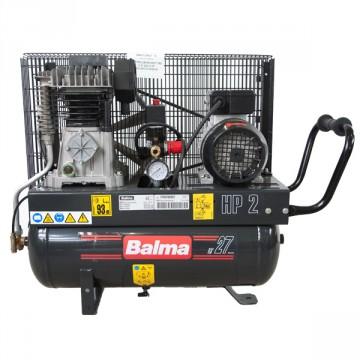 Compressore Monostadio trasmissione a cinghia 27 Litri BALMA NS12S/27 CM2 con ruote