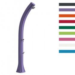 """Doccia Solare """"Happy XL con Lavapiedi"""" - 44 Litri - Disponibile in 8 colori - ARKEMA"""