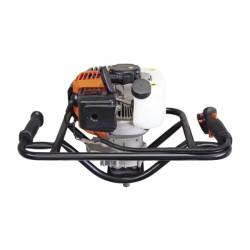 Trivella Professionale con Motore 2 Tempi da 52 cc con punta da 100 mm - AG52 GREEN LINE