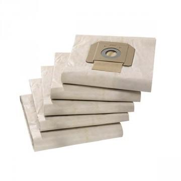Sacchetto filtro in carta KARCHER per Aspiratore serie NT 69042850 conf. 5 pz.
