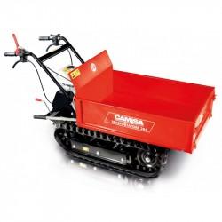Motocarriola a cingoli CAMISA TP 285 Portata 500 Kg Motore HONDA GX 200