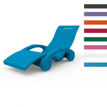 Sdraio Chaise Longue in Polietilene SERENDIPITY ® CHAISE GALLEGGIANTE - Disponibile in 8 colori - Arkema S 130