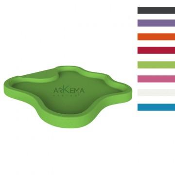 """Piatto doccia in polietilene """"Lake"""" - Disponibile in 8 colori - Arkema D 108"""