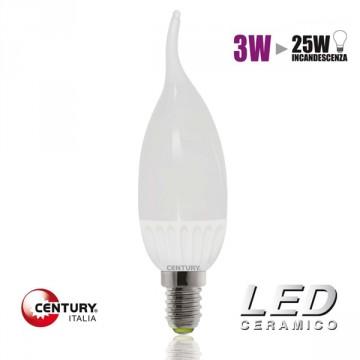 """Lampadina LED CENTURY """"Colpo di vento"""" - 3W - E14 - 2700K - CLXM1C-031427"""