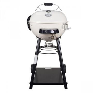 """Barbecue sferico a Gas con 1 Bruciatore Urban Line - OUTDOORCHEF """"LEON 570 G"""" colore vaniglia - 18.127.69"""