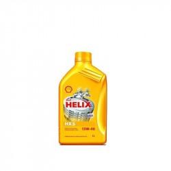 Olio motore SHELL HELIX 15W40 confezione da 1 litro