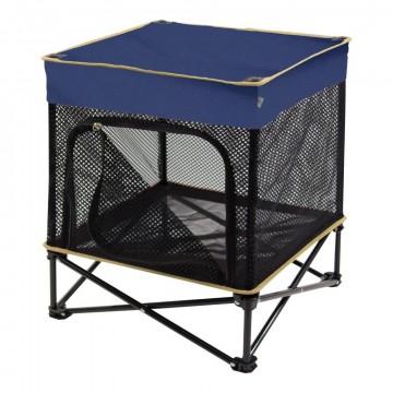 "Cuccia pieghevole per cani QUIK SHADE - KENNEL ""S"" - 61x61x77 cm - Colore Blu Navy"