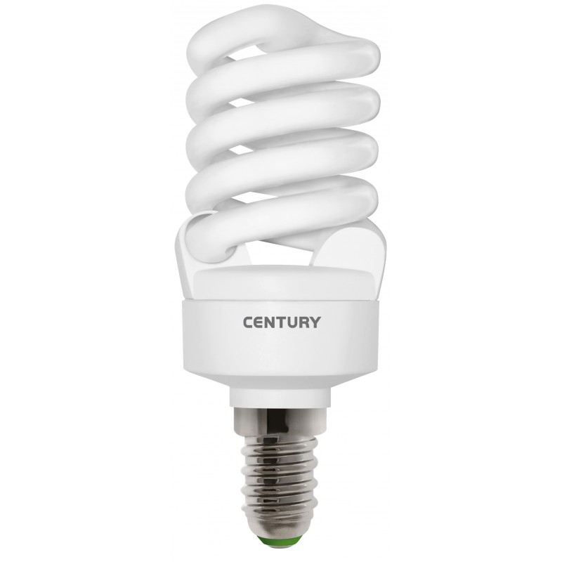 consumo lampadina : Lampadina Basso Consumo SPIRALE Micro ? 41 - 18W - E14 - 2700?K ...