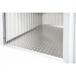 Pavimentazione in alluminio bugnato 109 x 190 - Biohort - per Minigarage