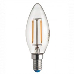 Lampadina a basso consumo led OLIVA stick 2700 K 220 - 240 V E14 - BOT LIGHTING - 2 wat