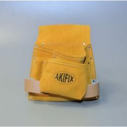 Tasca Da Posatore Tipo INDIAN In Scamosciato Con 8 Comparti - AKIFIX NE11001