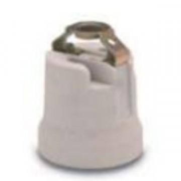 Portalampada in ceramica Bianco attacco E27 - ROSI