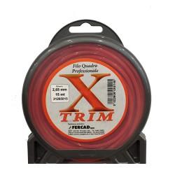 Filo di Nylon X Trim Quadro 2,65 mm x 56 mt - 31265015 FERCAD