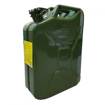 Tanica Carburante in Metallo da 20 litri - 007565 BRAUNER