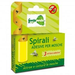 Spirali Adesive per Mosche conf. 3 pezzi - FONTEVERDE By Zapi - TCHFV340