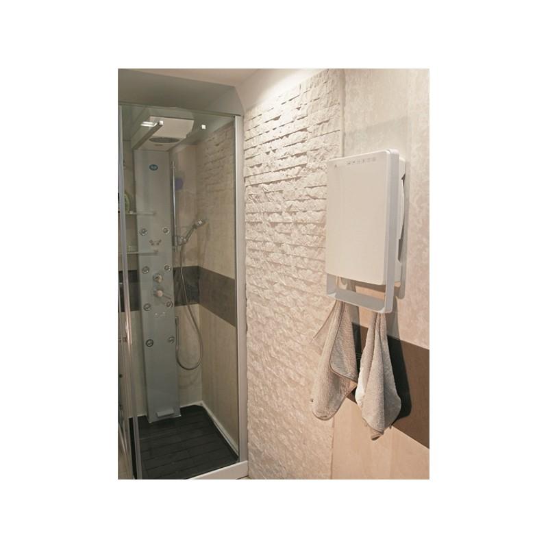Termoventilatore bagno digitale grigio 50 x 30 x 11 cm for Termoventilatore bagno