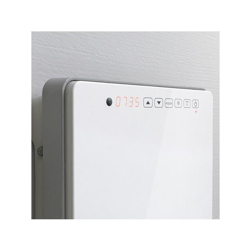 Termoventilatore bagno digitale a specchio 50 x 30 x 11 cm for Termoventilatore bagno