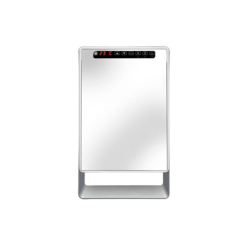 Termoventilatore bagno digitale a specchio 50 x 30 x 11 cm - Termoventilatore da bagno ...