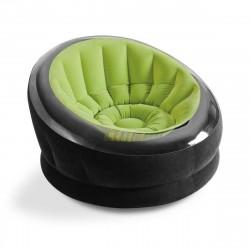 Poltrona Empire 112x109x69 cm colore verde - INTEX 68581