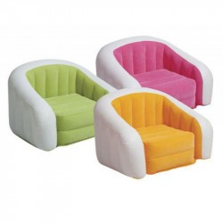 Poltrona 97x76x69 cm disponibile in 3 colorazioni - INTEX HAPPY HOUR 68571