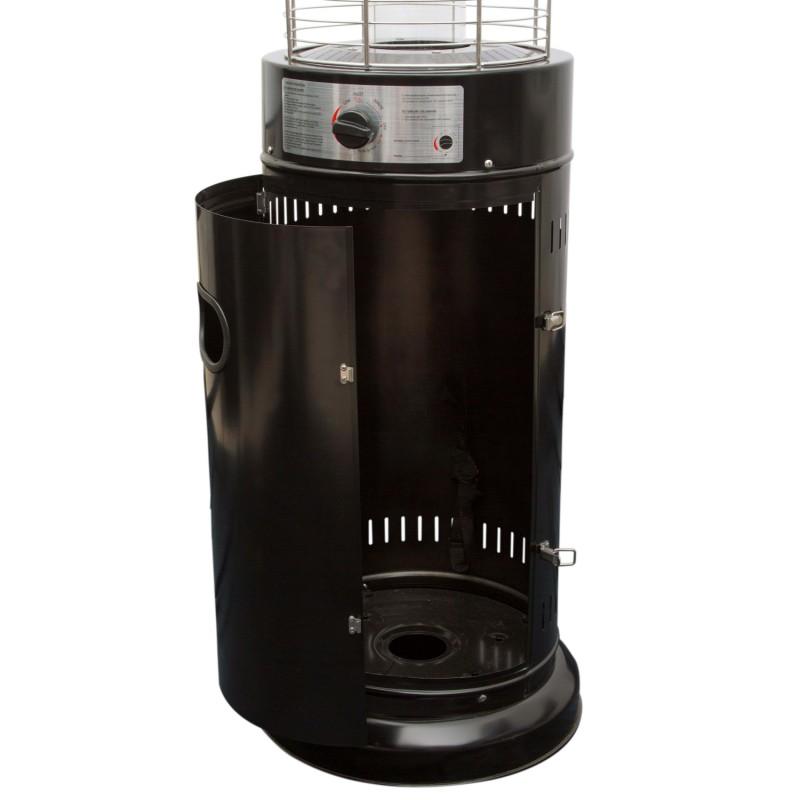 Stufa fungo cilindrico da esterni a gas 11 kw colore for Stufa a gas ecm prezzi