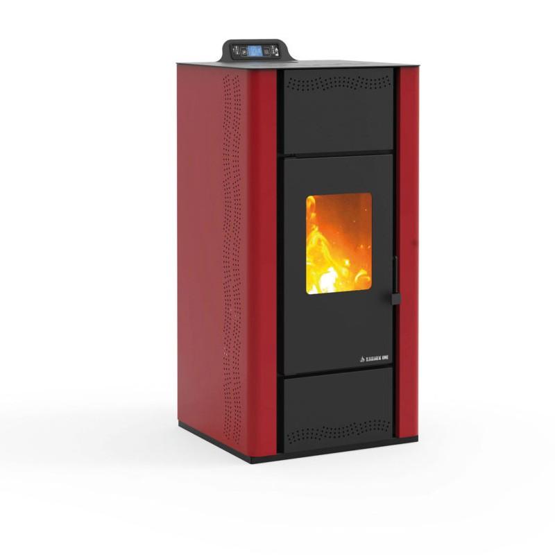 Termostufa a pellet per la produzione di acqua calda per - Stufe a pellet per termosifoni e acqua calda ...