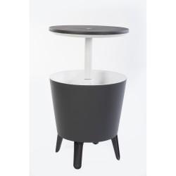Tavolino con contenitore termico - KETER COOL BAR Grigio