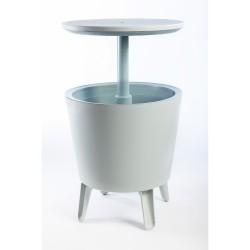 Tavolino con contenitore termico - KETER COOL BAR Bianco