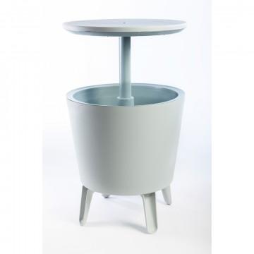 Tavolino COOL BAR Bianco con contenitore termico - KETER