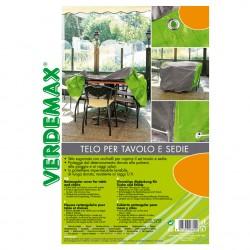 Telo rettangolare con occhielli per tavolo e sedie 240 x 100 x h 70 cm - VERDEMAX 6823