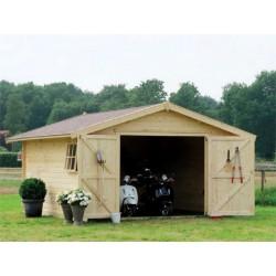 "Garage da giardino in Legno 318x558x260 h ""GARAGE 3454"" - GARTEN PRO 59429835"