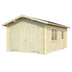 "Garage da giardino in Legno 386x540x268 h ""Garage Europa"" - PIRCHER 614005"