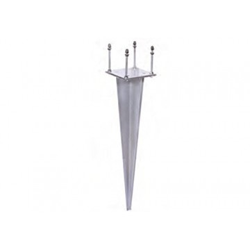 Supporto universale da interrare H. 50 cm - BEL FER 42/PC