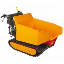 Motocarriola a cingoli con cassone dumper ribaltabile AMA TAG500ND- motore Loncin 9 hp - portata 500 Kg