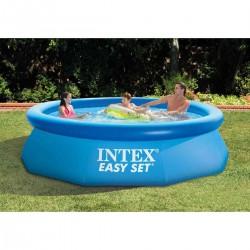 Piscina gonfiabile rotonda fuoriterra Easy Set cm 244x76 con pompa filtro - INTEX 28112