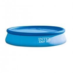 Piscina gonfiabile rotonda fuoriterra Easy Set cm 396x84 con pompa filtro - INTEX 28142