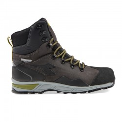 Scarpe antinfortunistiche DIADORA TRAIL LEATHER BOOT Nero S3 SRA HRO WR CI - 173537-80004S3 SRA HRO WR CI TG.38