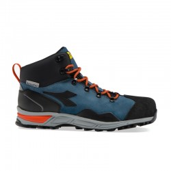 Scarpe antinfortunistiche DIADORA D-TRAIL LEATHER HIGH Blu S3 SRA HRO WR - 173536-60014