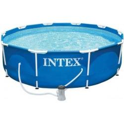 Piscina gonfiabile rotonda fuoriterra Easy Set cm 457x84 con pompa filtro - INTEX 28158