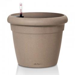 Vaso RUSTICO Color 21 con sistema di AUTO-IRRIGAZIONE - ø21xh20 cm - disponibile in 5 COLORI