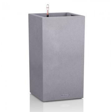 Vaso CANTO Color 30 a colonna con sistema di AUTO-IRRIGAZIONE - 30x30xh56 cm - disponibile in 3 COLORI