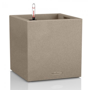 Vaso CANTO Color 40 cubo con sistema di AUTO-IRRIGAZIONE - 40x40xh40 cm - disponibile in 3 COLORI