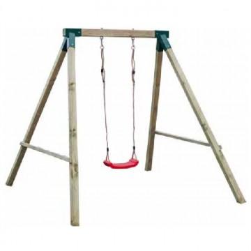Altalena da giardino per bambini con struttura in legno for Altalena da giardino per bambini chicco