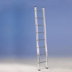 """Scala semplice d'appoggio a pioli ad un tronco di salita, 10 Gradini H:2,87 M, """"EURO E1"""" SCE10020 - SVELT"""
