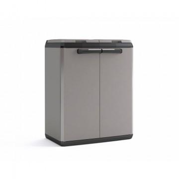 Contenitore per differenziata in plastica 39x68x85 cm for Contenitori immondizia ikea